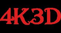 4K3D logo