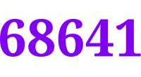 68641 logo