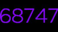 68747 logo