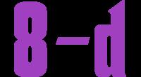 8-d logo