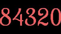 84320 logo