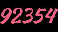 92354 logo