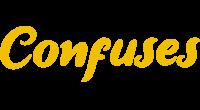 Confuses logo