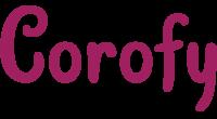 Corofy logo