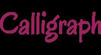 Calligraph logo