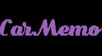 CarMemo logo