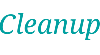 Cleanup logo