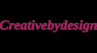 Creativebydesign logo