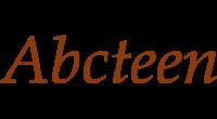 Abcteen logo