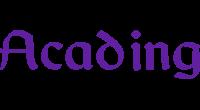 Acading logo
