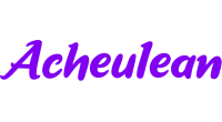 Acheulean logo