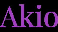 Akio logo