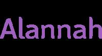 Alannah logo