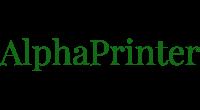 AlphaPrinter logo