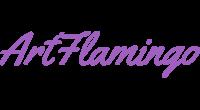 ArtFlamingo logo