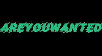 Areyouwanted logo