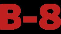 B-8 logo