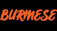 BURMESE logo