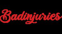 Badinjuries logo
