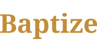 Baptize logo