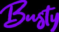 Busty logo