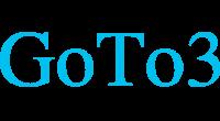 GoTo3 logo