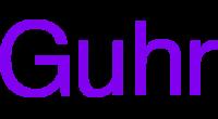 Guhr logo