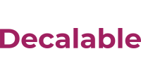 Decalable logo