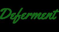 Deferment logo