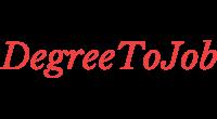 Degreetojob logo