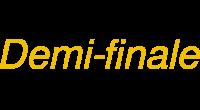 Demi-finale logo