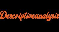 Descriptiveanalysis logo