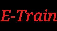 E-Train logo