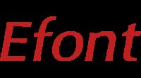 Efont logo