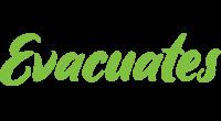 Evacuates logo