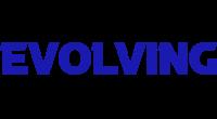 Evolving logo