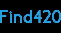 Find420 logo
