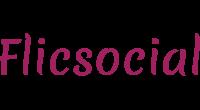 Flicsocial logo