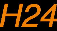 H24 logo