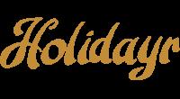 Holidayr logo