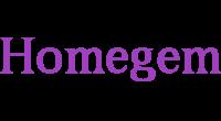 Homegem logo