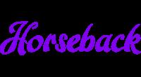 Horseback logo
