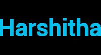 Harshitha logo