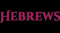 Hebrews logo