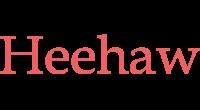 Heehaw logo