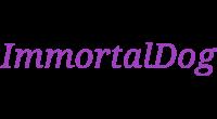 ImmortalDog logo