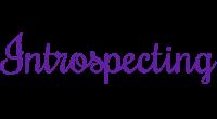 Introspecting logo