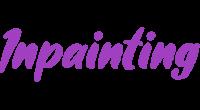 Inpainting logo
