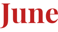 June logo