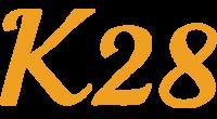 K28 logo